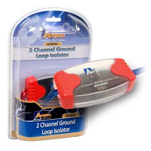 Aerpro AP3052 2-Channel Ground Loop Isolator