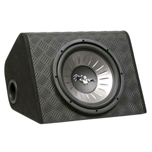"Aerpro UBW12B 12"" Loaded Enclosure Sub Box"