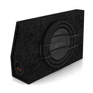 "Aerpro E12F 12"" Slim Loaded Enclosure Sub Box"