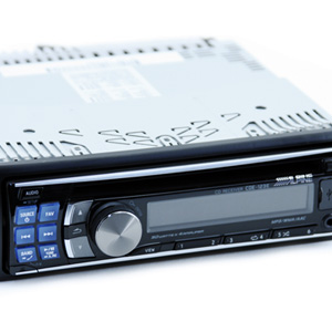 Alpine CDE-123E CD/USB/iPod Receiver