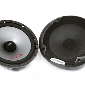 "Alpine SPG-17CS 6.5"" Component Speakers"