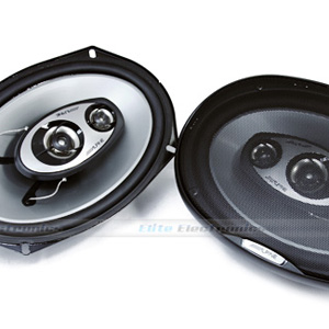 "Alpine SPJ-69C3 6x9"" Type-J Speakers"