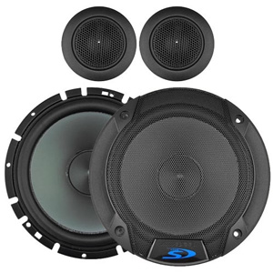 "Type-S 6-1/2"" Component 2-Way Speakers Stereo..."