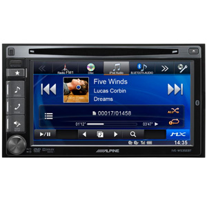 "Alpine IVE-W535EBT Bluetooth 6.1"" Media Station"