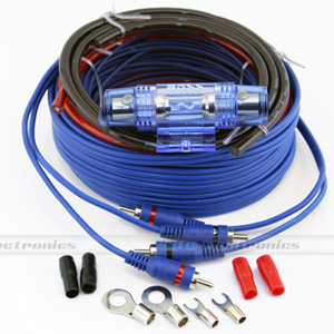 Boss 8GK 8-Gauge 2-Ch Amp Wiring Kit