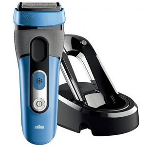 World's 1st shaver with active cooling technology...