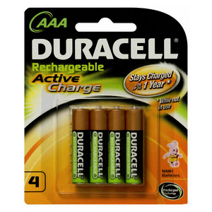 4 x Long Lasting Powerful NiMH batteries suited...