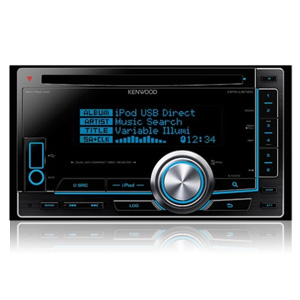 Kenwood DPX-U6120 Double DIN Receiver