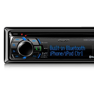 Kenwood KDC-U7053BT Bluetooth Car Receiver