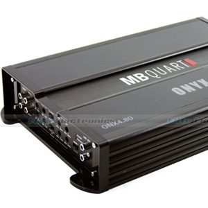 MB Quart ONX4.80 4/3/2 Channel Amplifier