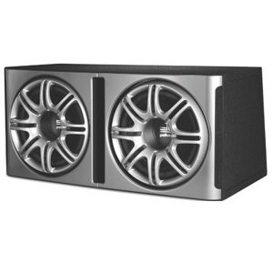 "Polk DB1222 12"" Dual Loaded Enclosure Subwoofer"