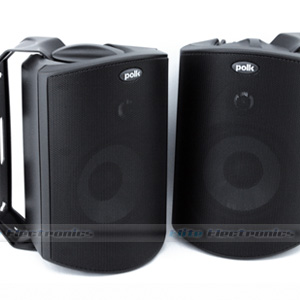 Polk Audio Atrium 4 Outdoor Speakers (Black)