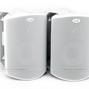 Polk Audio Atrium 4 Outdoor Speakers (White)