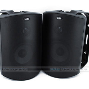 Polk Audio Atrium 6 Outdoor Speakers (Black)