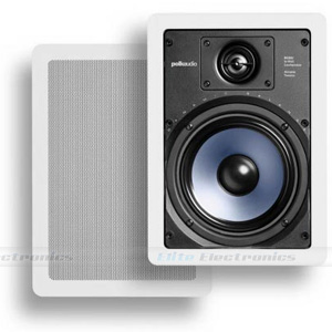 "Polk Audio RC65i 6-1/2"" In-Wall Speakers"