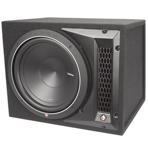 "Rockford Fosgate P1-1X12 12"" Loaded Enclosure"