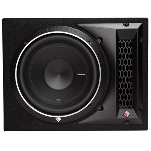 "Rockford Fosgate P2-1X10 10"" Loaded Enclosure"