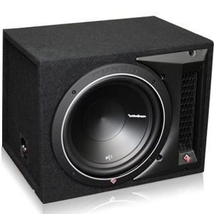 "Rockford Fosgate P2-1X12 12"" Loaded Enclosure"