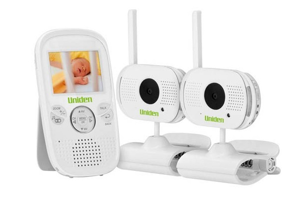 uniden bw3002 2 3 digital wireless baby video monitor zoom pan smartphone app. Black Bedroom Furniture Sets. Home Design Ideas