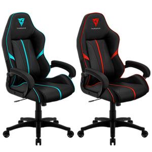 Aerocool Thunderx3 Bc1 Series Gaming Chair Black Red Cyan