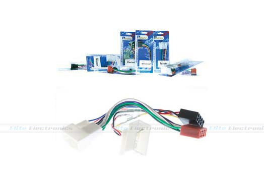Iso Wiring Harness Plug Lead Wire Loom Connector For