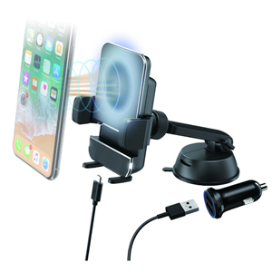 Aerpro APWHSHLD Qi Wireless Charger Cradle Kit w/ Suction