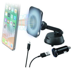 Aerpro APWMSHLD Qi Wireless Magnetic Charger Kit w/ Suction
