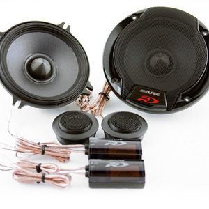 New Alpine SPR-60C speakers -