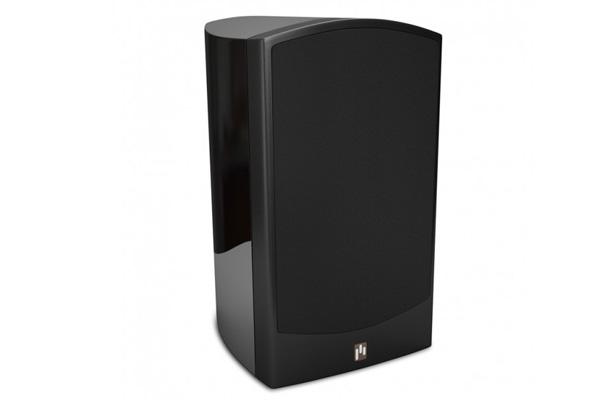 Aperion Verus II Grand Bookshelf Speaker Pair Black Gloss