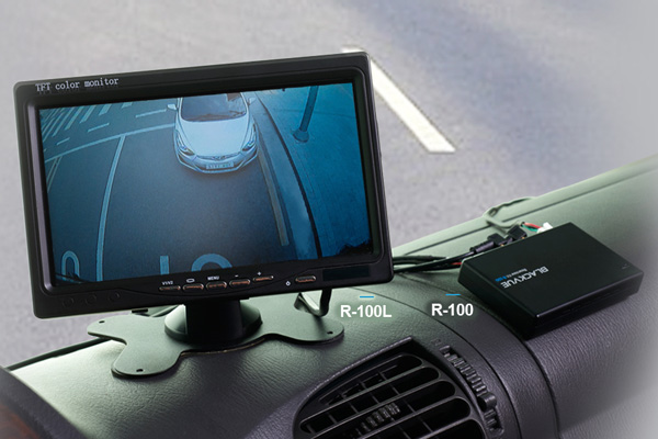 blackvue r 100 l reversing kit 7 quot lcd monitor