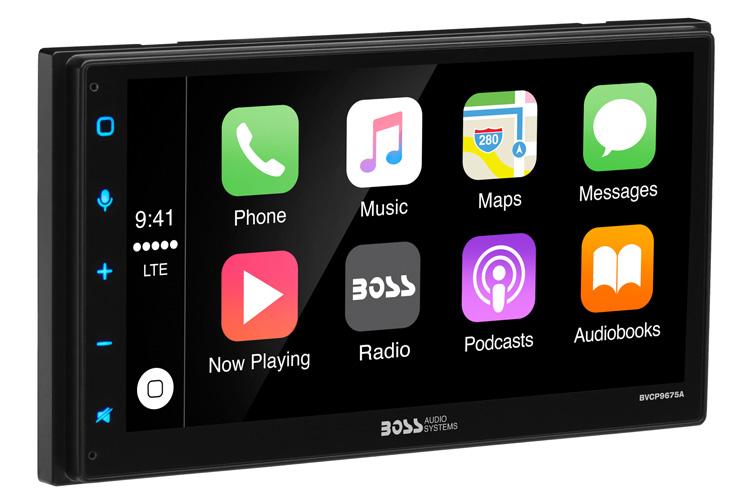 boss bvcp9675a bluetooth apple carplay android auto. Black Bedroom Furniture Sets. Home Design Ideas