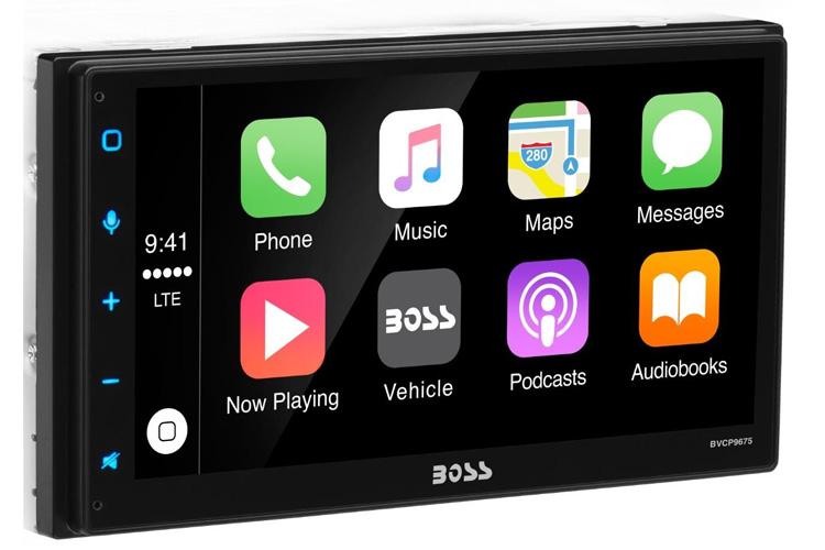 boss bvcp9675 bluetooth apple carplay radio multimedia. Black Bedroom Furniture Sets. Home Design Ideas