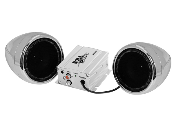 Boss Audio Mc420b 3 Quot Bluetooth Motorcycle Speakers W Amp