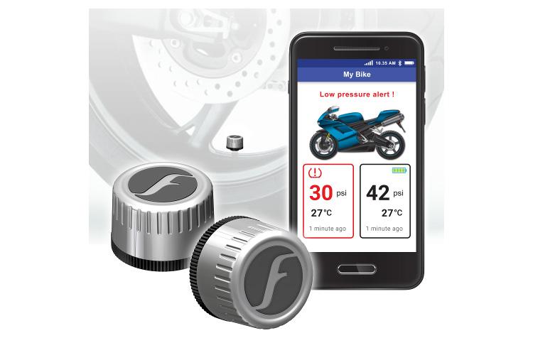 Fobo Bike 2 Silver Bluetooth 5 Diy Tyre Pressure Monitor