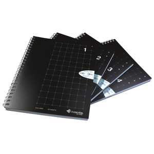 Livescribe ANX-00005 A5 Grid Notebook (4 Pack)