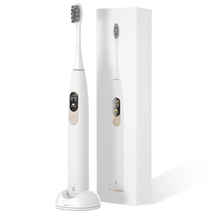 Oclean X Sonic Smart Electric Toothbrush Color Touch Screen White