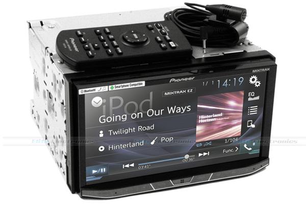 pioneer avh x8850bt 7 bluetooth dvd apple carplay android. Black Bedroom Furniture Sets. Home Design Ideas
