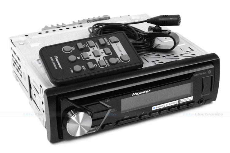 pioneer deh s4050bt dual bluetooth mp3 cd usb receiver. Black Bedroom Furniture Sets. Home Design Ideas
