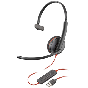 Plantronics Blackwire 3200 Series Corded UC Headset 209744-101