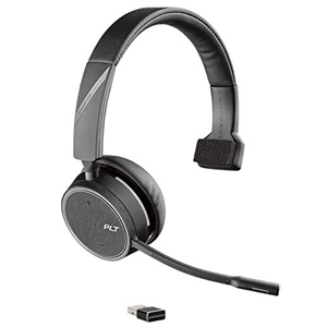 Plantronics Voyager 4210 Mono UC Bluetooth Over Ear Headset MS Skype