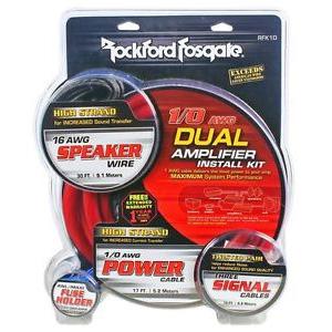rockford fosgate rfk1d 1 0 dual wiring kit