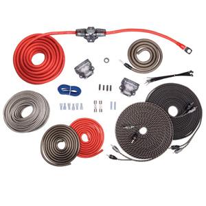 rockford fosgate rfk4d 4 awg dual amp wiring kit