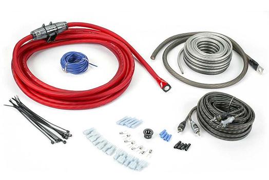 rockford fosgate rfk4x 4 awg complete wiring kit