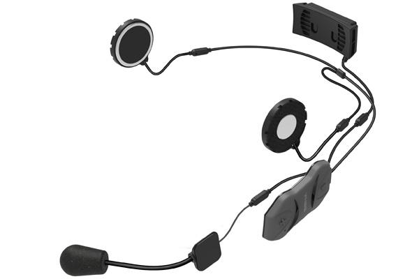 sena 10r 10 low profile bluetooth headset w handle bar. Black Bedroom Furniture Sets. Home Design Ideas