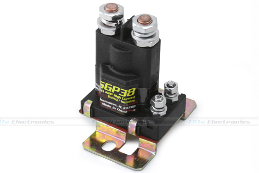 Stinger Sgp38 80 Amp Battery Isolator And Relay
