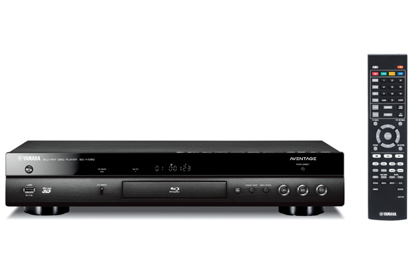 yamaha aventage bd a1060 4k 3d sacd wi fi blu ray player. Black Bedroom Furniture Sets. Home Design Ideas