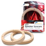 Aerpro AP3161 6.5 165mm 16mm Raw MDF Speaker Spacers 6-1/2