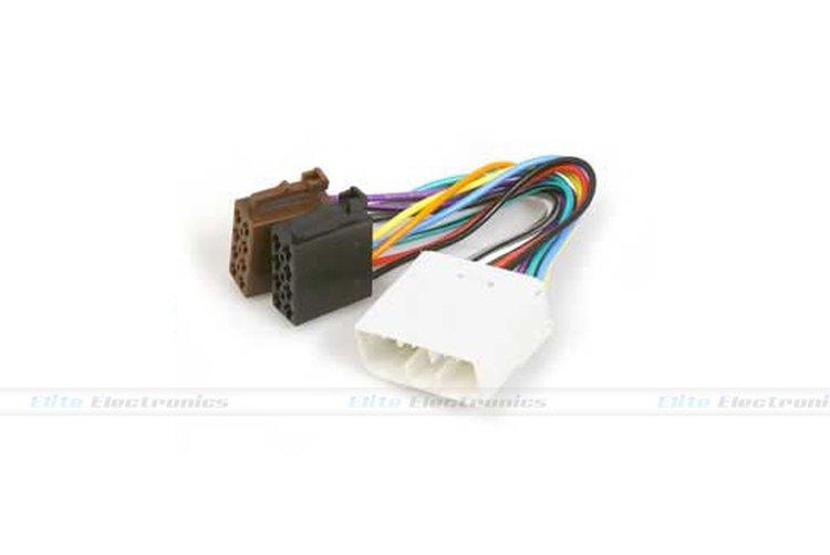 Subaru Forester CD radio stereo wiring harness adapter lead loom ISO  converterintothewindth.com