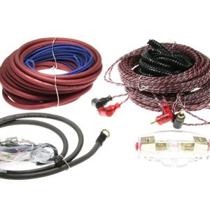 Aerpro Bassix BSX408 8-Gauge 4-Channel Amplifier Wiring Kit