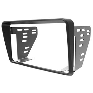 Aerpro FP9240 Ford Falcon AU Series 1 2 3 Black Double Din Facia